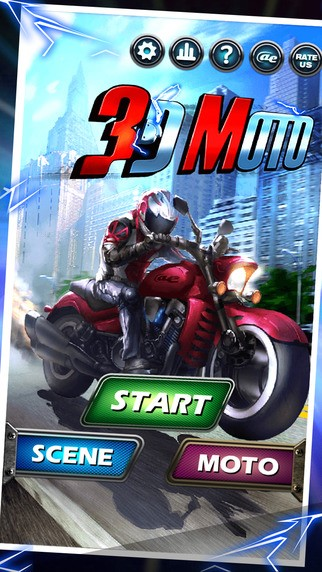 AE 3D Motor : Moto Bike Racing, Road Rage to Car Run