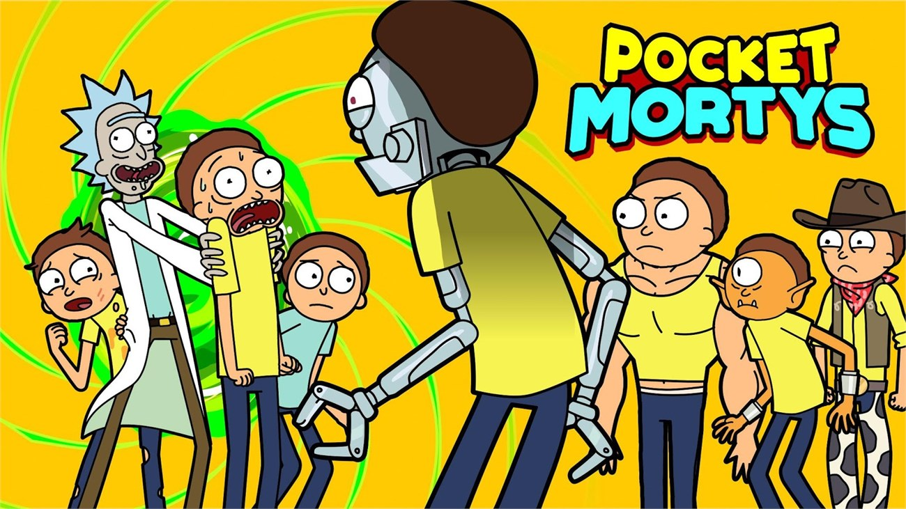 Pocket Mortys - Pokemon Phiên bản siêu BỰA