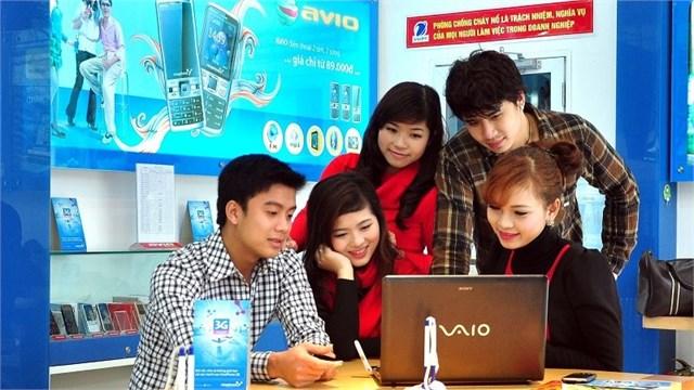 Lưu lượng 3G của VinaPhone tăng tới 95% trong dịp Tết