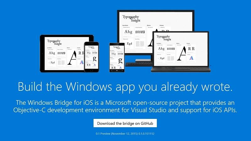 Project Islandwood - Dự án giúp đem ứng dụng từ iOS lên Windows 10