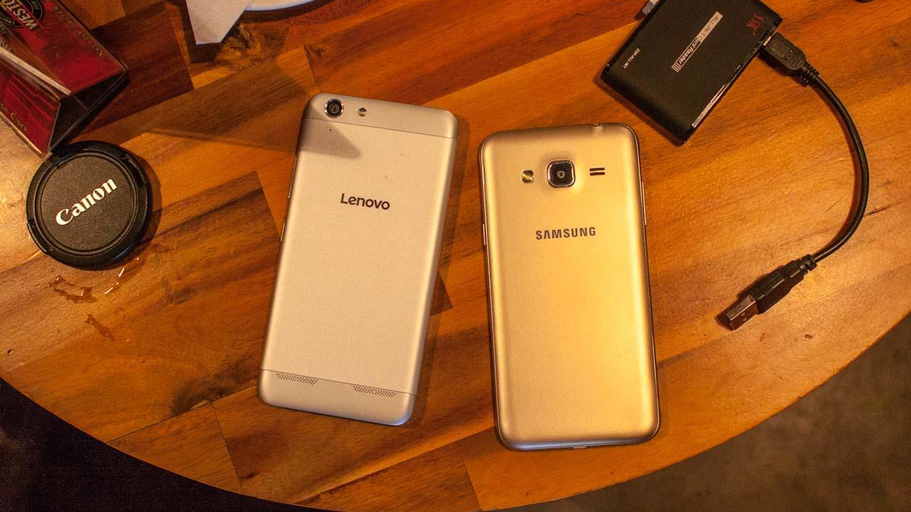 So sánh Lenovo A6020 vs Galaxy J3 2