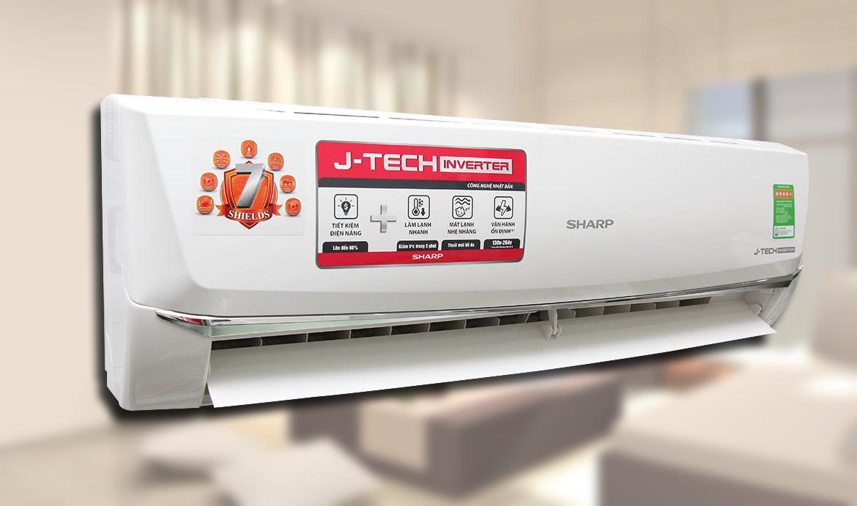 Máy lạnh Sharp Inverter 1 HP AH-X9SEW