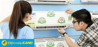 3 tiêu chí hàng đầu khi chọn mua máy lạnh