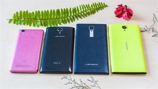 Mở hộp bộ tứ smartphone Leagoo: Thiết kế nhiều màu sắc, pin lớn, giá từ 1.7 triệu
