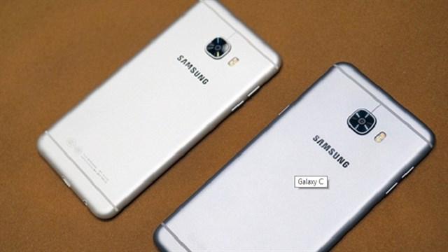 """Trên tay bộ đôi Galaxy C5, C7: Giá tốt nhưng thiết kế """"tuy lạ mà quen"""""""