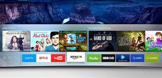 Cách dò kênh trên Smart tivi Samsung 2016