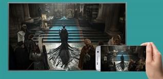 Cách chiếu màn hình điện thoại lên Smart tivi LG 2016