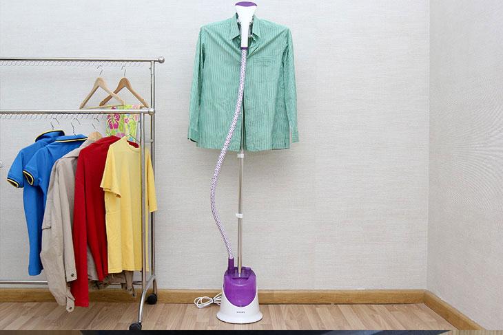 4 lý do nên có 1 chiếc bàn ủi hơi nước đứng trong nhà