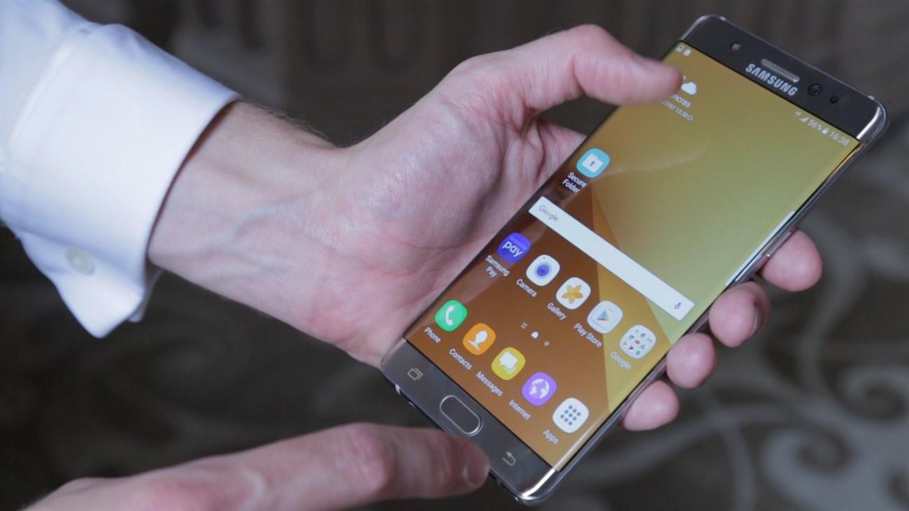 Galaxy Note 7 là smartphone có màn hình tốt nhất hiện nay