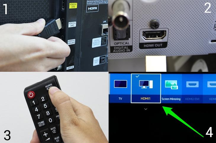 Kết nối tivi với thiết bị âm thanh qua cổng HDMI (ARC)