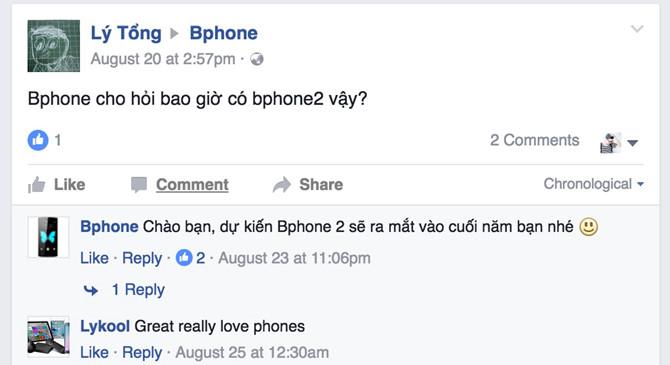 BKAV xác nhận Bphone 2 là có thật và nó sắp ra mắt rồi