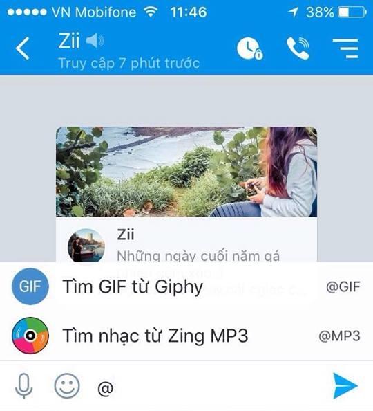 Cách sử dụng 2 tính năng mới cực hay trên Zalo cho iPhone - ảnh 2