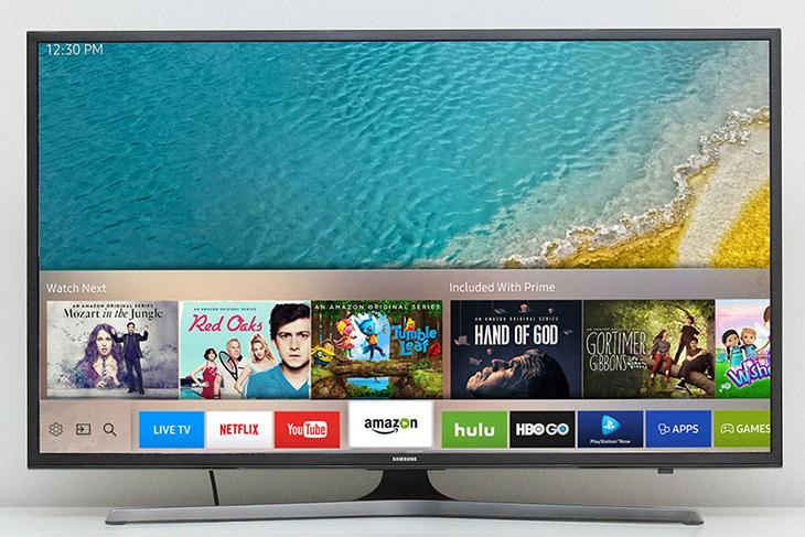 Giao diện Tizen trên Smart TV Samsung