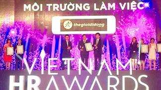 TGDĐ vinh dự đoạt giải thưởng doanh nghiệp có môi trường làm việc tốt