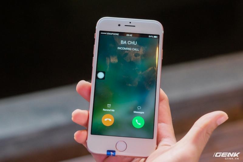 Giao diện gọi điện thoại.