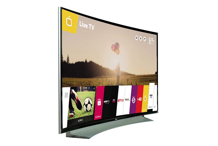 Tivi LG màn hình cong