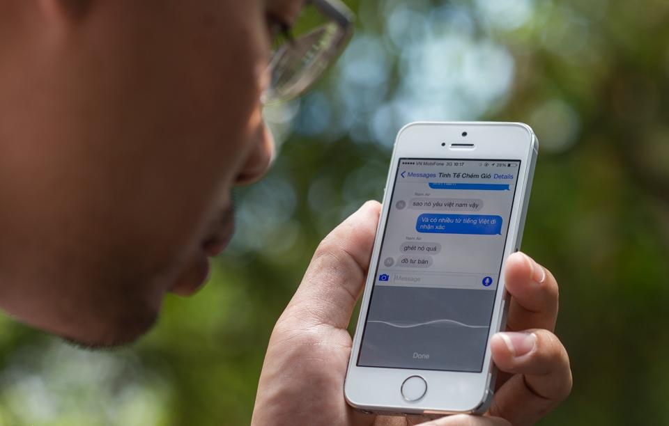 Nhập bằng giọng nói trở nên phổ biến hơn với sự phát triển của công nghệ trí thông minh nhân tạo