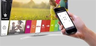 Cách dùng iPhone điều khiển tivi LG