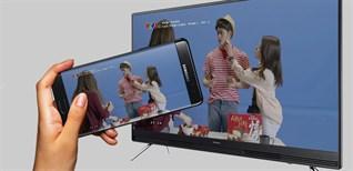 Cách chiếu màn hình tivi Samsung xuống điện thoại