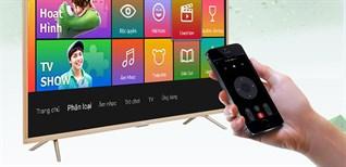 Cách dùng điện thoại điều khiển Smart tivi TCL Z2