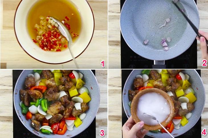 Cách làm sườn xào chua ngọt cho mâm cơm ngày Tết