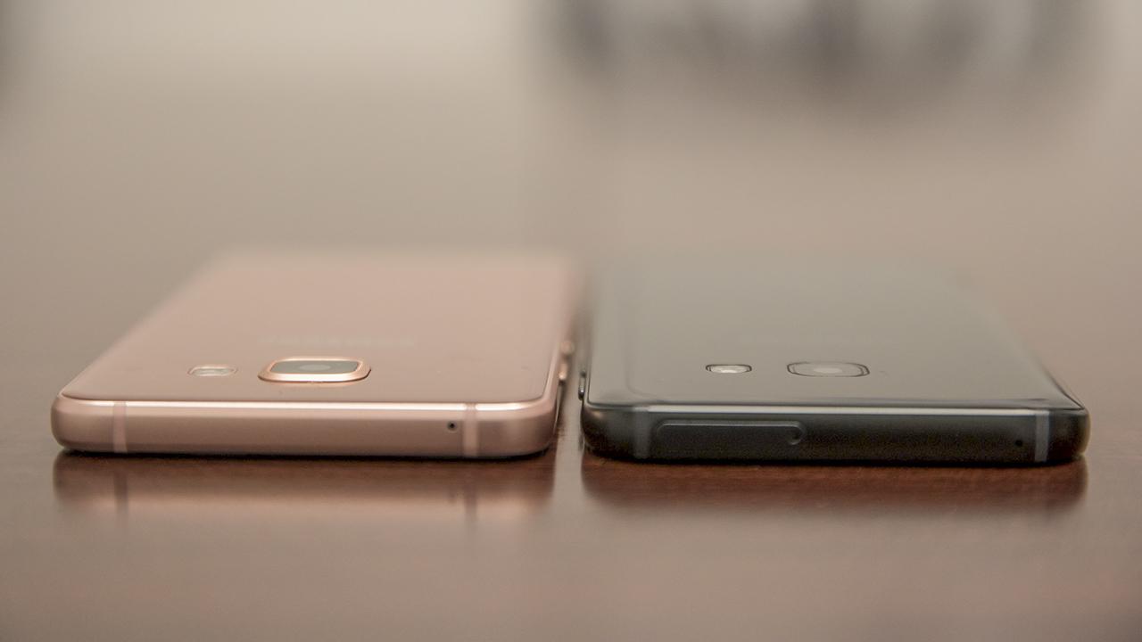trên tay Galaxy A3 2017 và A5 2017