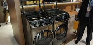 Samsung ra mắt máy giặt thông minh thiết kế siêu dị tại CES 2017