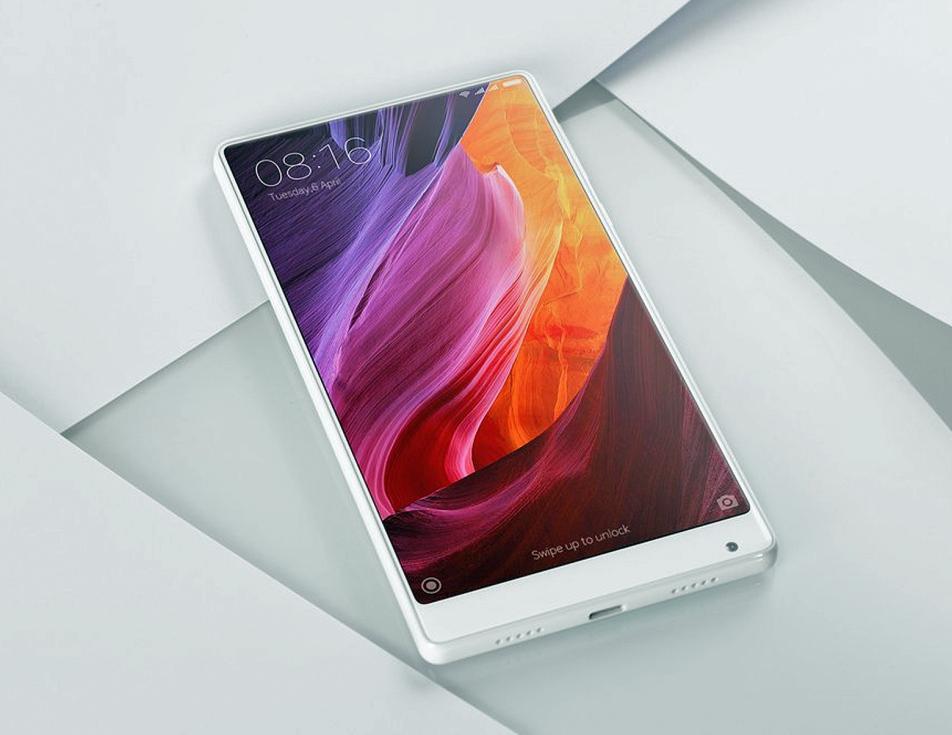 Xiaomi Mi MIX màu trắng ngọc sẽ sớm lên kệ