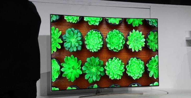 QLED có thể truyền tải hình ảnh với màu sắc ấn tượng