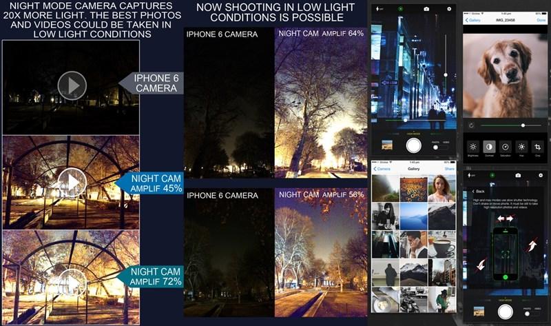 Trước khi được miễn phí Night Mode Camera (Photo & Video) có giá 1,99 USD