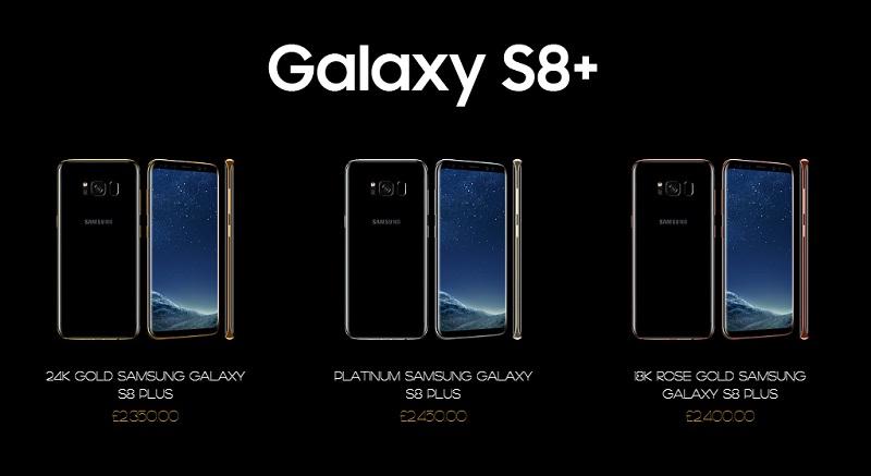 Giá Galaxy S8 Plus các phiên bản