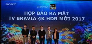 Tivi Sony 4K HDR mới 2017 - Những tính năng nổi bật