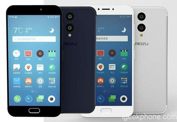Meizu MX7, Pro 7 cấu hình khủng như S8, cảm ứng lực giá từ 8 triệu lộ ảnh render - ảnh 3