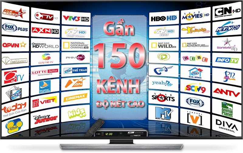 Các kênh truyền hình HD ngày càng phong phú