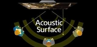 Công nghệ âm thanh độc đáo Acoustic Surface trên dòng tivi OLED Sony