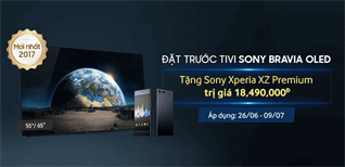 """Đã có thể đặt trước """"siêu phẩm"""" tivi OLED Sony A1 tại Điện máy XANH"""