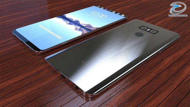 Concept: LG V30 màn hình phụ cực độc, chống nước IP68, RAM 6GB, Snapdragon 835, camera kép - ảnh 2