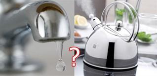 Nước lọc rồi có phải nấu lại khi sử dụng hay không?