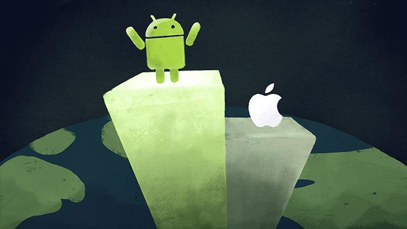 Apple thì đang cố bán được nhiều điện thoại và máy tính bảng còn Google chỉ cần đến sự chú ý của bạn mà thôi