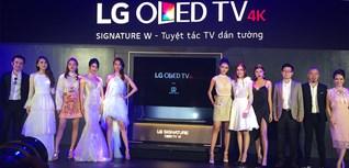 LG chính thức ra mắt dòng tivi OLED mỏng nhất thị trường Việt Nam