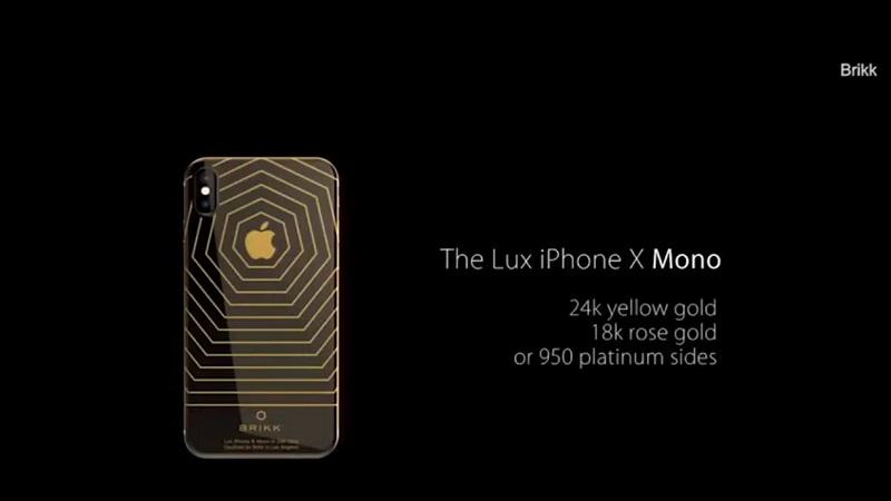 Cận cảnh iPhone X phiên bản đặc biệt cho giới siêu giàu, giá hơn 1,5 tỷ đồng - ảnh 2