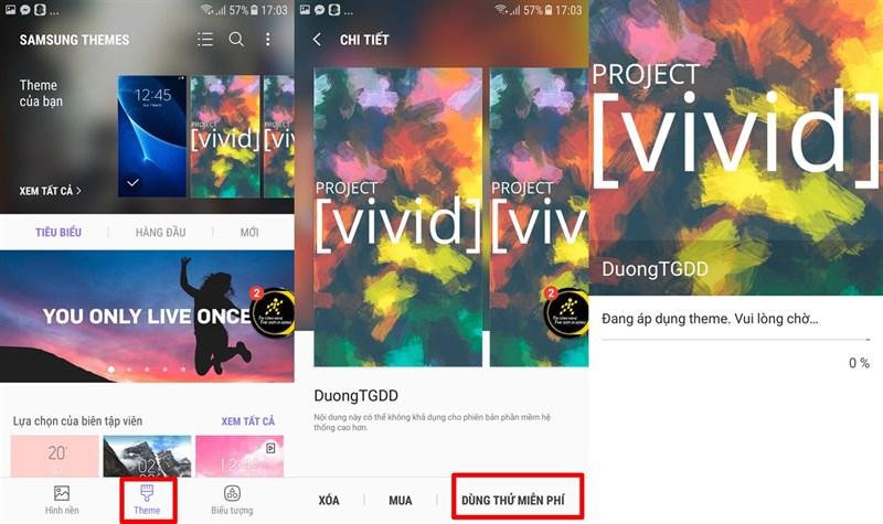 Mẹo tự thiết kế theme theo ý thích cho smartphone Samsung - ảnh 9