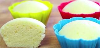 Cách làm bánh bông lan hấp bằng bột bánh bông lan hấp Mikko