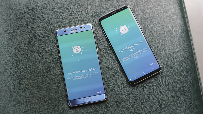 So sánh Galaxy Note FE và Galaxy S8