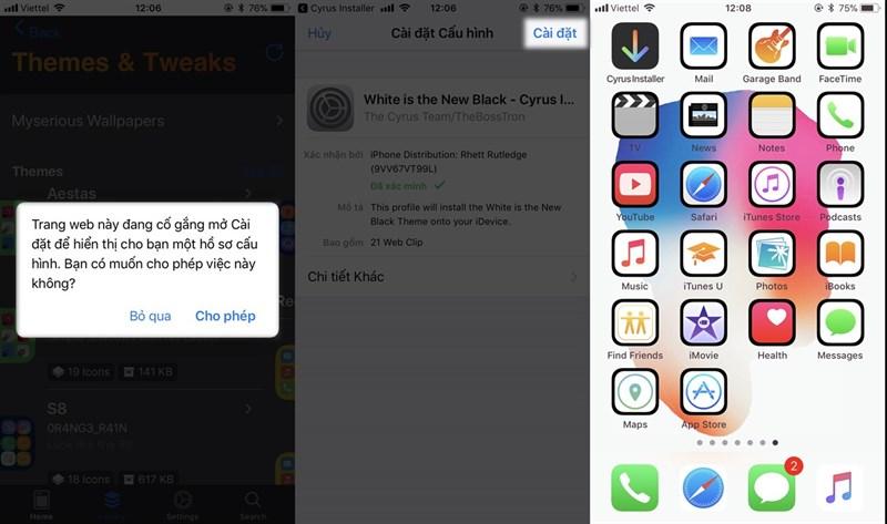 Thay đổi bộ icon cực đẹp trên iPhone mà không cần Jailbreak - ảnh 5