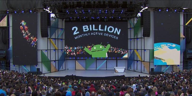 Google đang có hơn 2 tỷ người dùng Android