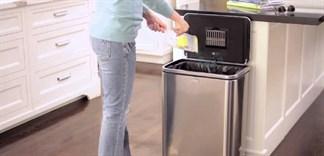 Tại sao không nên để thùng rác trong bếp?