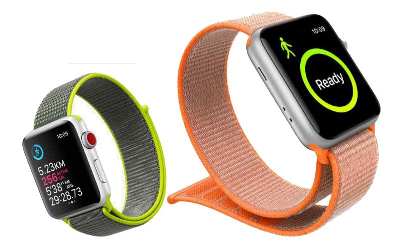 Đồng hồ Apple Watch 3 có gắn SIM - Được trang bị hệ thống định vị GPS