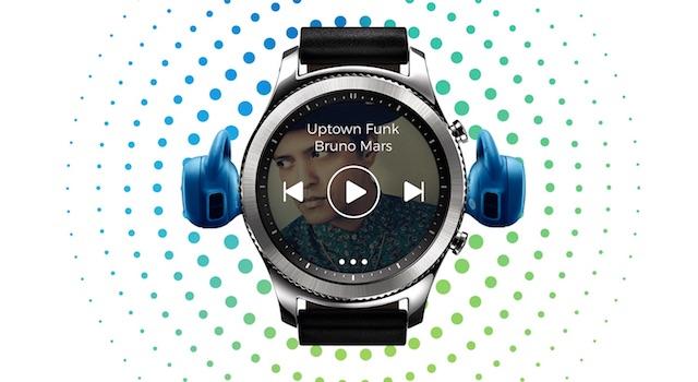 Samsung Gear S3 frontier LTE - Nghe nhạc mà không cần đến điện thoại