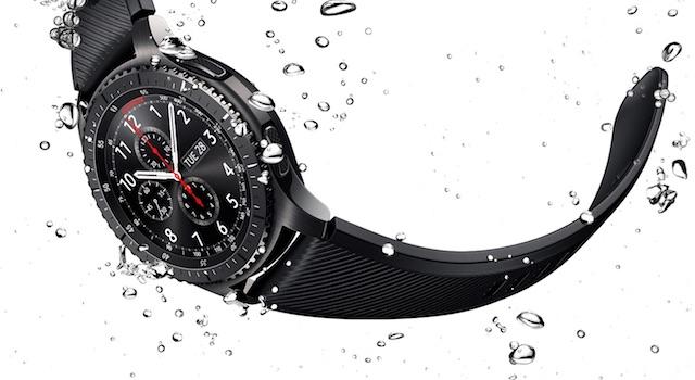 Samsung Gear S3 frontier LTE - Khả năng chống nước, chống shock tốt nhất